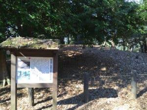 早川城の物見塚