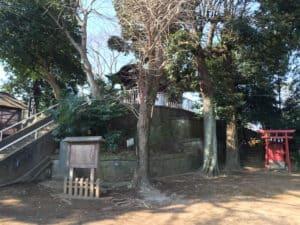 岩付城の愛宕神社