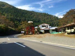 松姫神社と松姫旅館