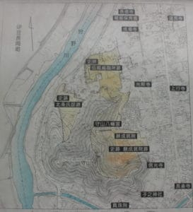 守山周辺の地図
