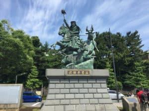 北条早雲の銅像