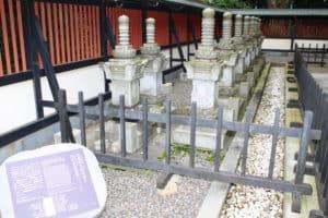 伊達政宗殉死者の墓