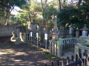 浄見寺の大岡家墓所