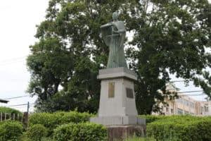 高山右近の銅像