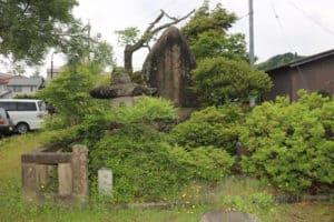 川中島一騎討ちの碑