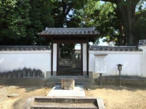 豊臣秀長の墓所