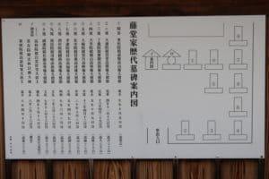 藤堂家墓所