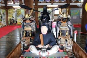 藤堂高虎の像