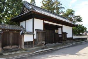 矢沢家の長屋門(松代)