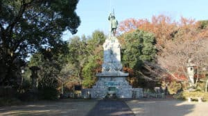 加藤清正の銅像