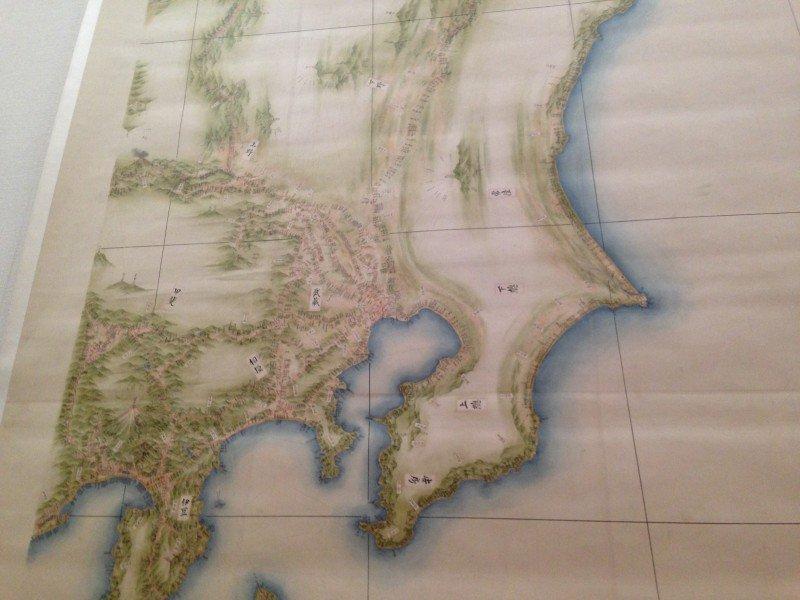 伊能忠敬の地図