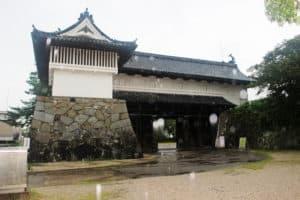 佐賀城の鯱の門