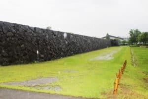 佐賀城の石垣