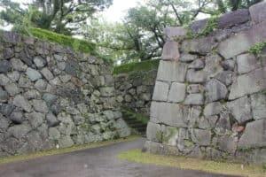 佐賀城の天守台入口