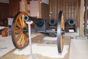 佐賀城の大砲
