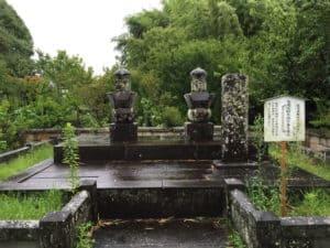 龍造寺高房の墓