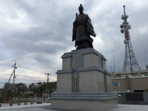 鍋島直正の銅像