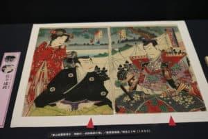佐々成政降参の絵画