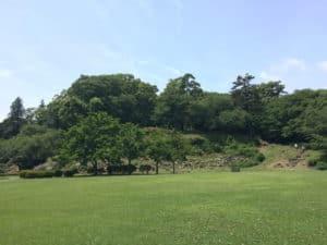 石垣山城の本丸