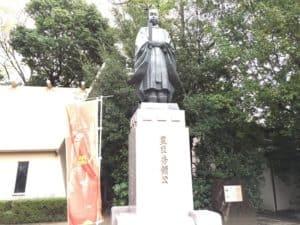 豊臣秀頼銅像