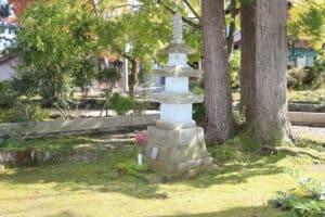 旧家臣瀧池家の墓