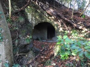 大磯城の横穴式墓群