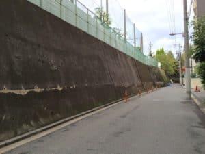 真田丸の崖か?