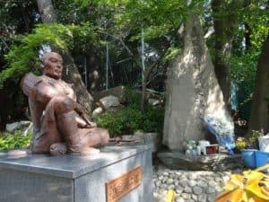 真田幸村戦死の碑