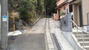 小机城への入口