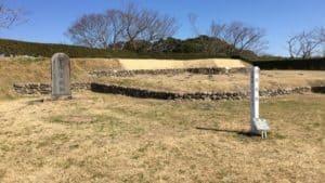 横須賀城の天守台