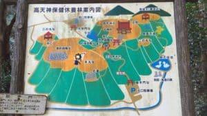 高天神城案内図