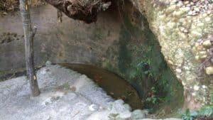 高天神城の三日月井戸