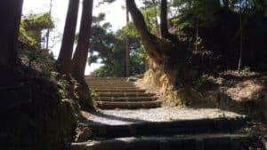 高天神城の井戸曲輪