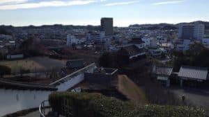 掛川城・天守閣からの展望