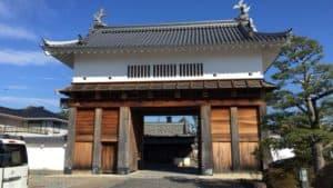 掛川城・大手門