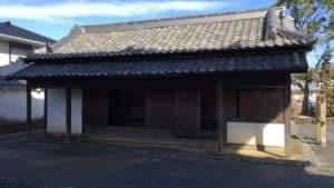 掛川城・大手門の番所