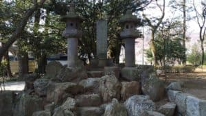 快川紹喜の墓