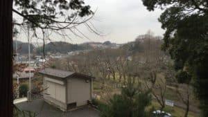 小山田城からの眺め