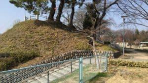 前橋城の土塁