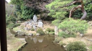 大善寺の庭園