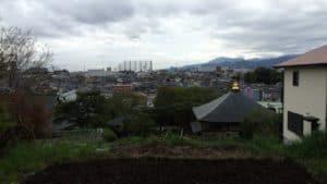小山城からの展望
