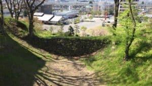 上田城の空堀