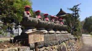 信綱寺の六地蔵