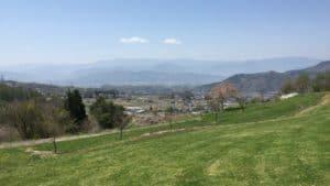 松尾城からの展望