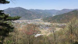 真田本城からの展望