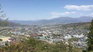 丸子城からの展望