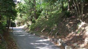 吉田城の堀跡