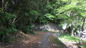 吉田城の本丸下