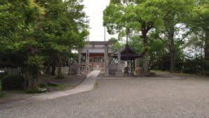 墨俣城の豊国神社