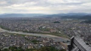 岐阜城からの展望
